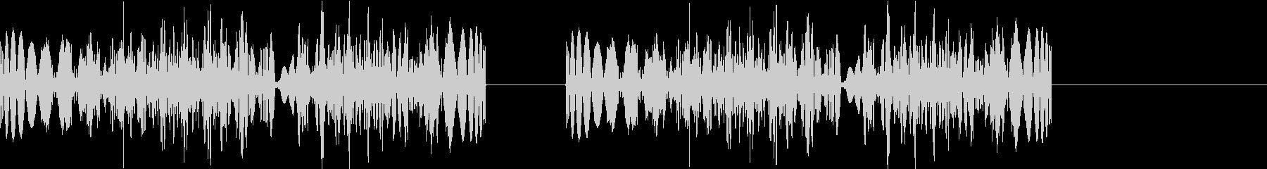 DJプレイ スクラッチ・ノイズ 309の未再生の波形