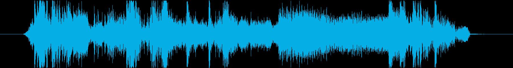 フィクション 力学 機械変換03の再生済みの波形