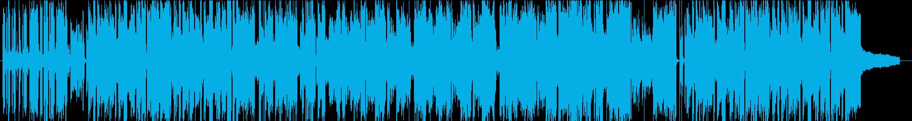 アニメ CM 問題解決からの大団円の再生済みの波形