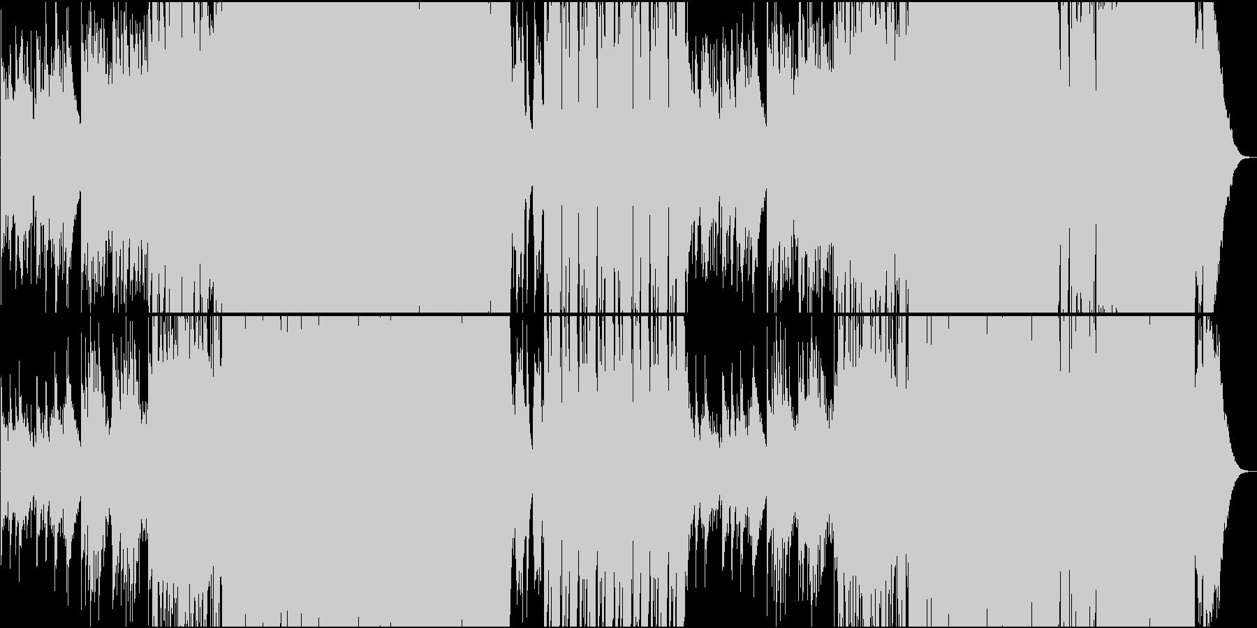 琴で奏でる切ないFuture Popの未再生の波形