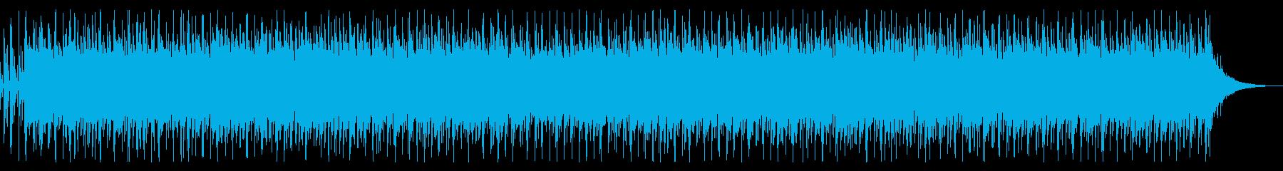 トロピカルなウクレレ・夏向き・水中映像等の再生済みの波形