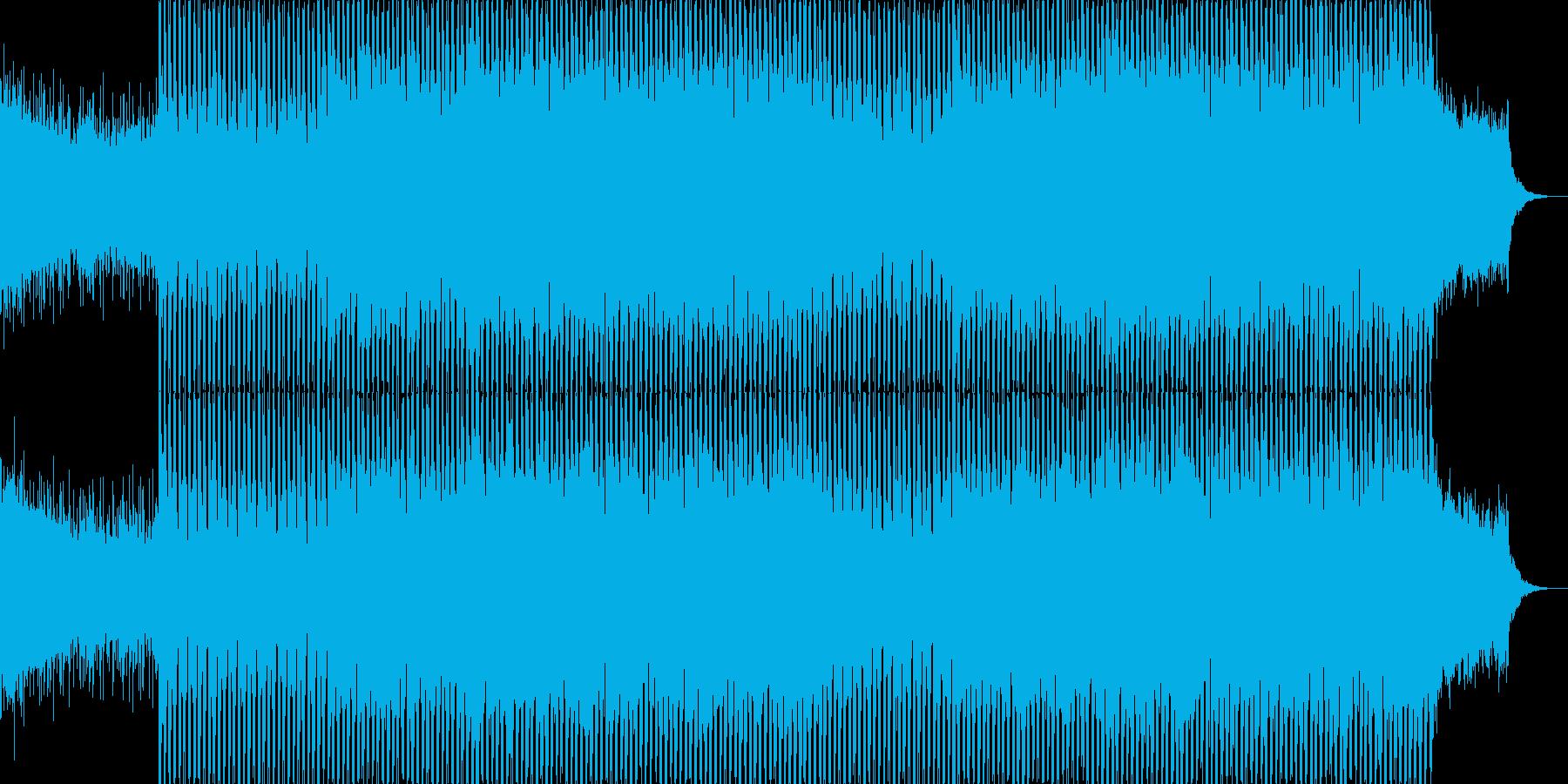 EDMクラブ系ダンスミュージック-96の再生済みの波形