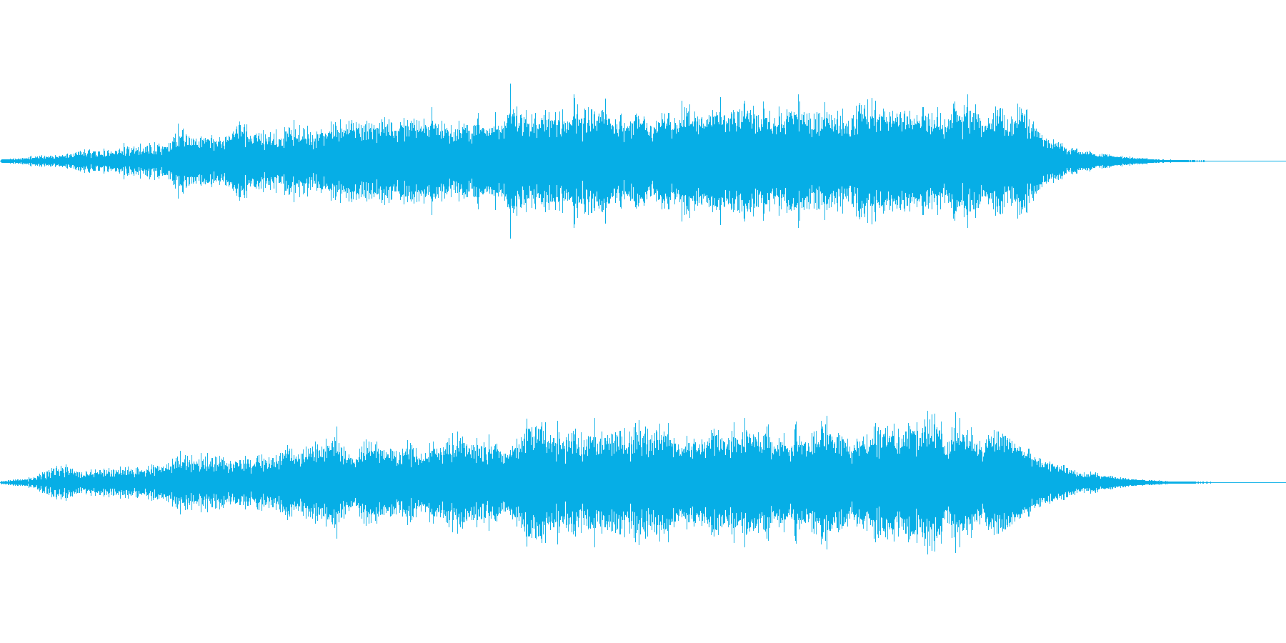 企業・サウンドロゴ・アイキャッチ4の再生済みの波形