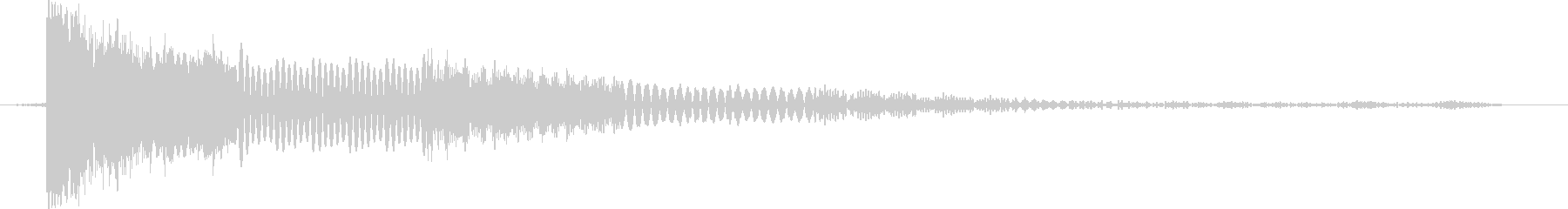 アナログFX 15の未再生の波形