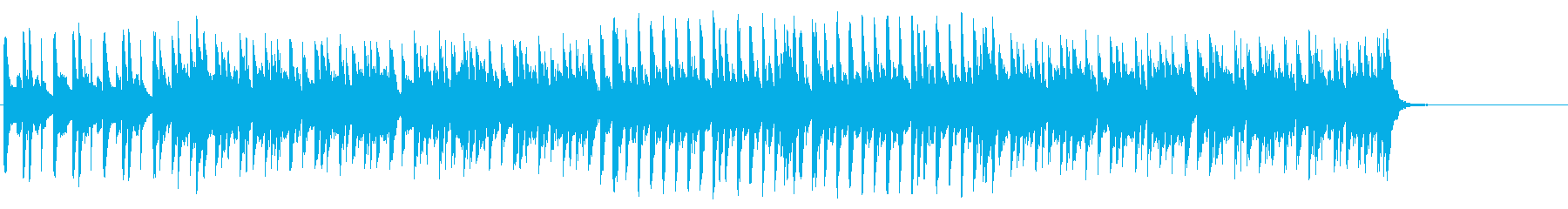 とぼけたテクノ/ポップの再生済みの波形