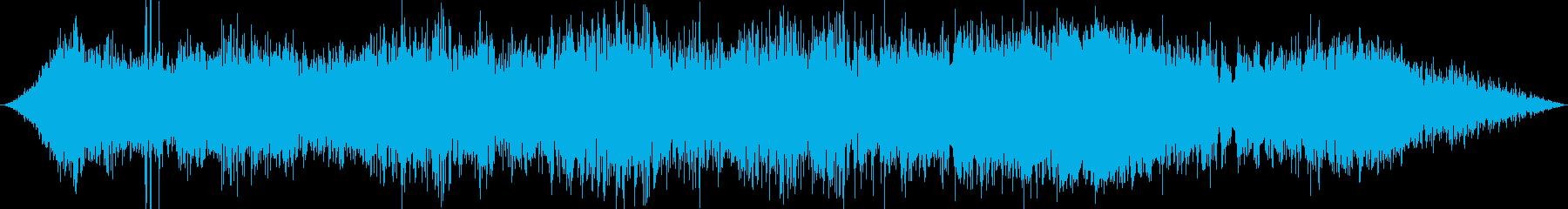 スキャナー長距離高ピンポイント周波数干渉の再生済みの波形