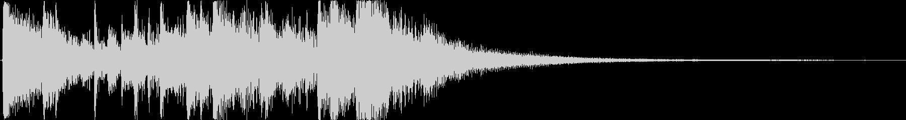会社のロゴ、プログラムの紹介、ブラ...の未再生の波形