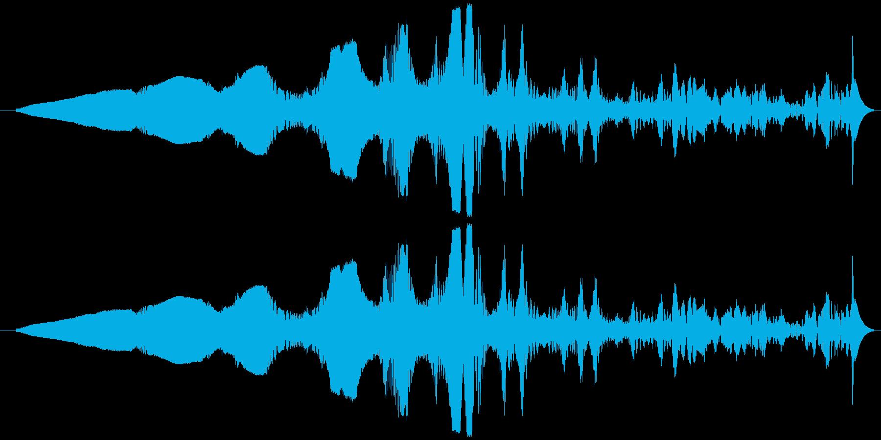 打撃 エイリアンエナジー01の再生済みの波形