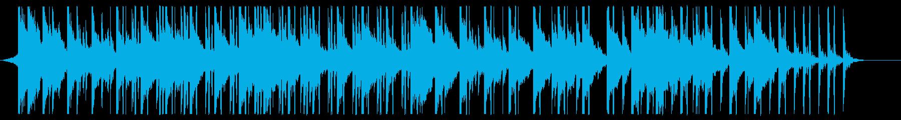 幻想的でかわいい雰囲気のピアノBGMの再生済みの波形