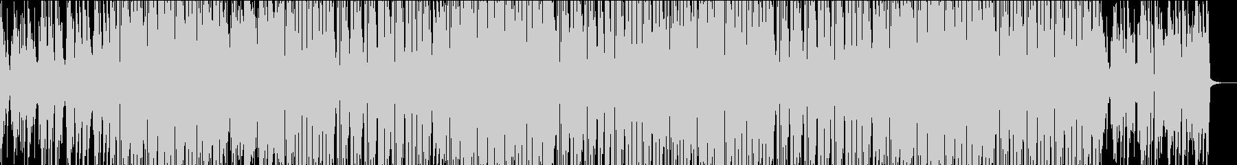 オープニング・ほのぼの・ヒップホップ♫の未再生の波形