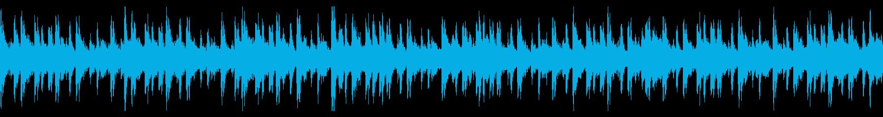 温かみ×清涼感★アプリホーム画面★ループの再生済みの波形