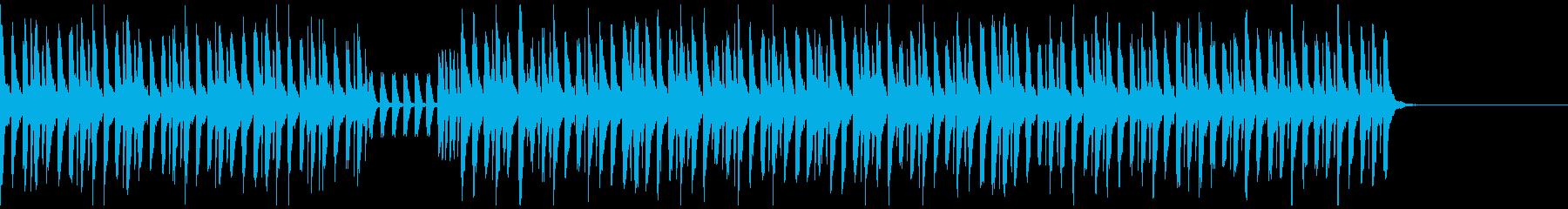 気分が明るくなるBGM 60秒verの再生済みの波形