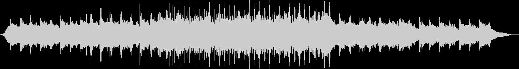 陽気なロックのコーポレートBGM②の未再生の波形
