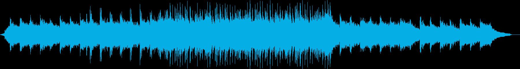 陽気なロックのコーポレートBGM②の再生済みの波形
