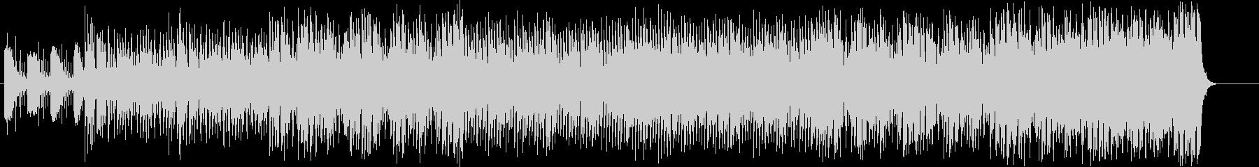シャッフル調のアダルトなポップスの未再生の波形
