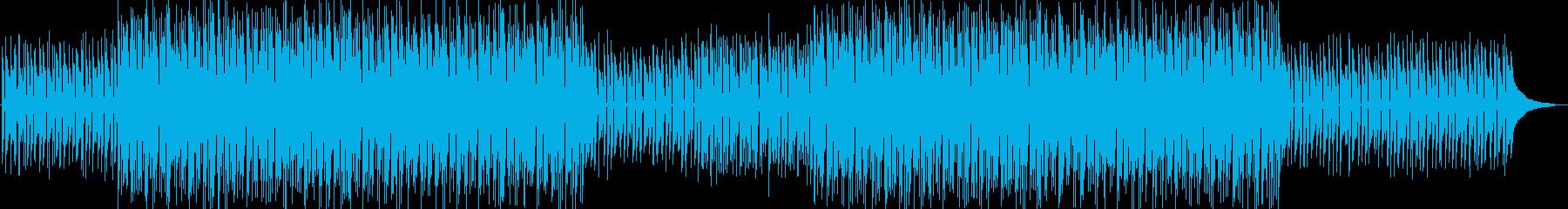 少し切なくておしゃれなボサノヴァの再生済みの波形