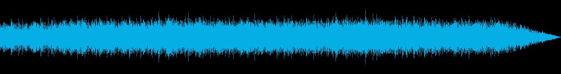 ポジティブな響きのあるテクノ・ポップの再生済みの波形