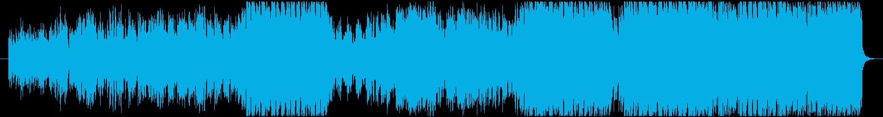 Quatz Waltzの再生済みの波形