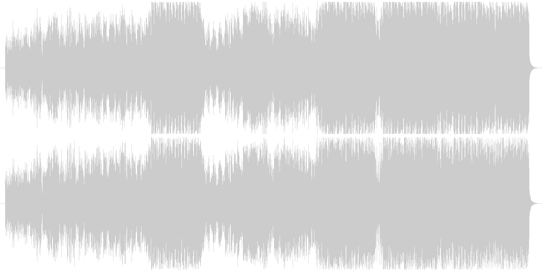 Quatz Waltzの未再生の波形