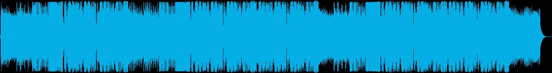 EDM 未来 期待 始まり 躍動感 感動の再生済みの波形