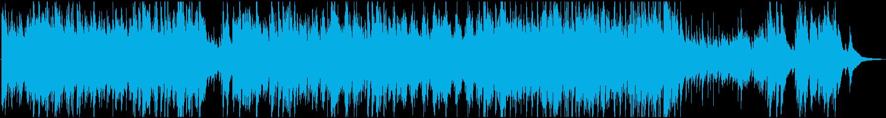 春の暖かさを感じるハープ曲の再生済みの波形