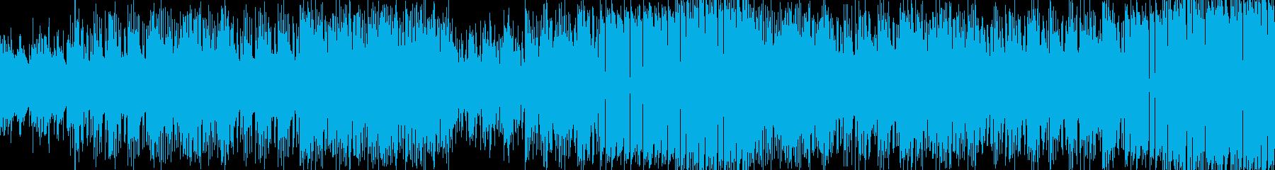 ミニマルエレピHipHop 説明動画などの再生済みの波形