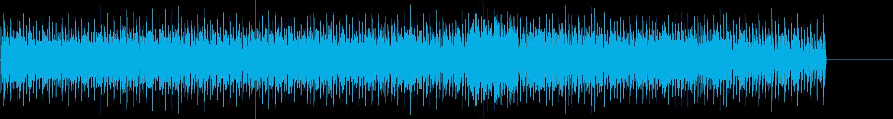とても焦燥感のある曲調ですの再生済みの波形