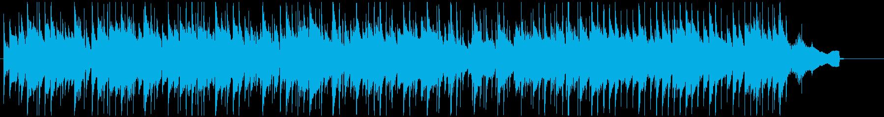 色っぽいセクシーな場面のサックス・ジャズの再生済みの波形