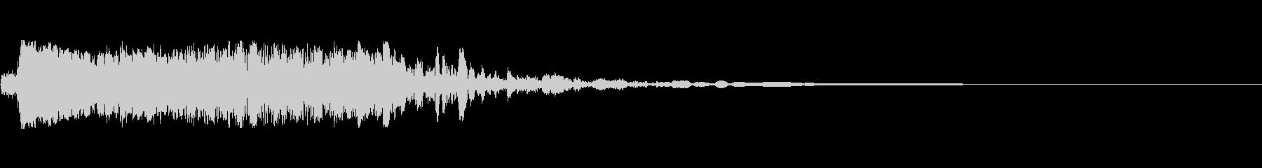 インパクトストップ2の未再生の波形