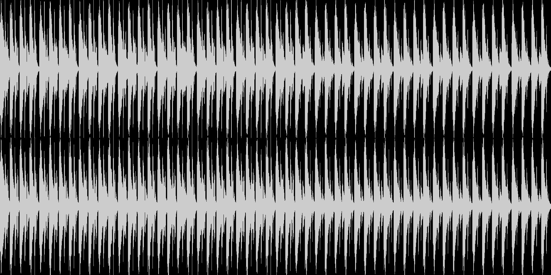 進歩的な技術/ハウス。反復的で、や...の未再生の波形