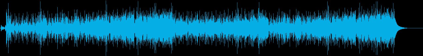 大胆で牧歌的なレゲエ風ポップフュージョンの再生済みの波形