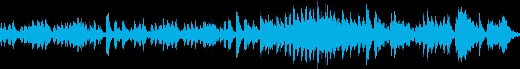 ほのぼのとしたマリンバのソロの再生済みの波形