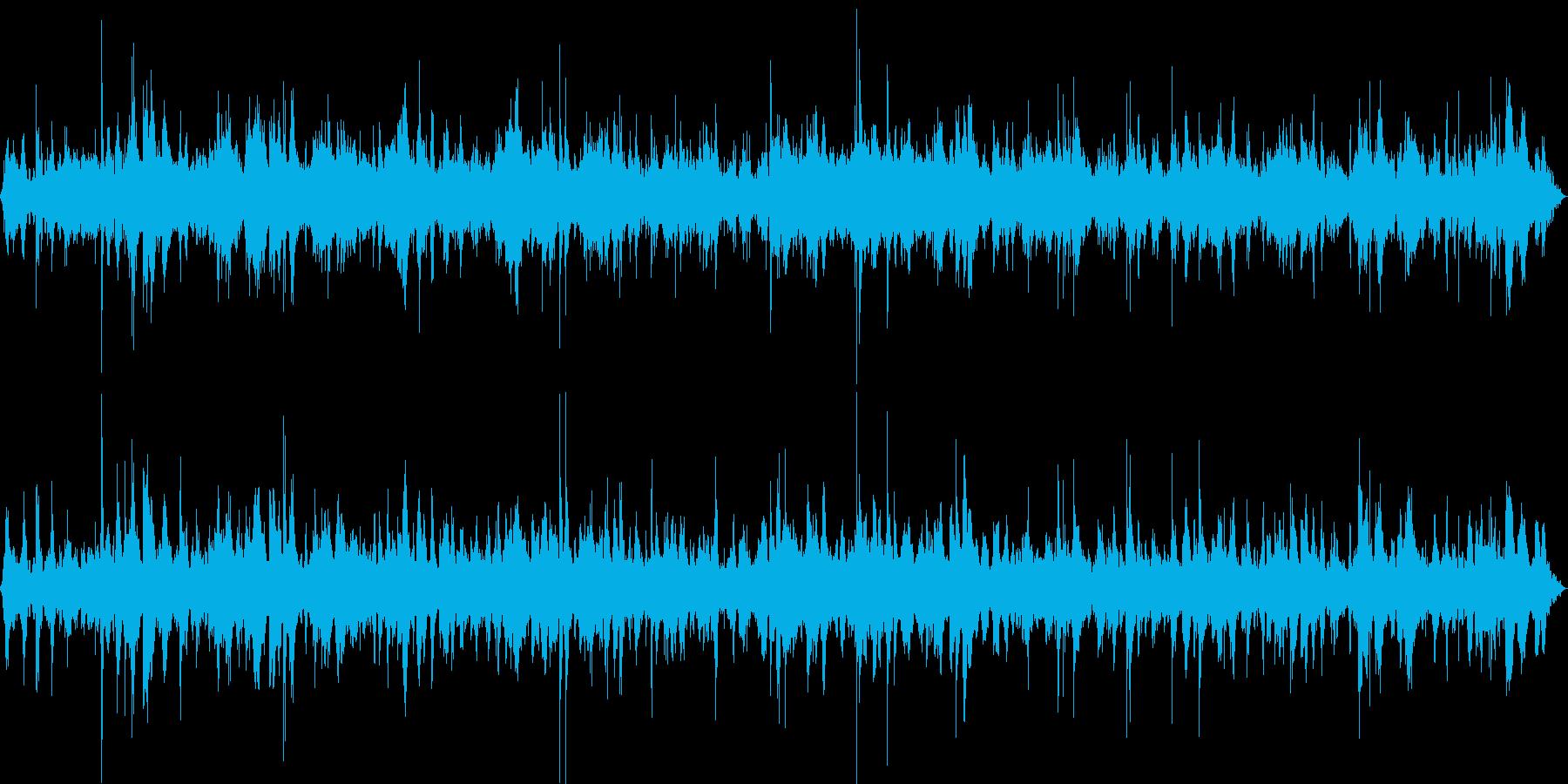 【自然音】砂浜01(玉結湾)の再生済みの波形