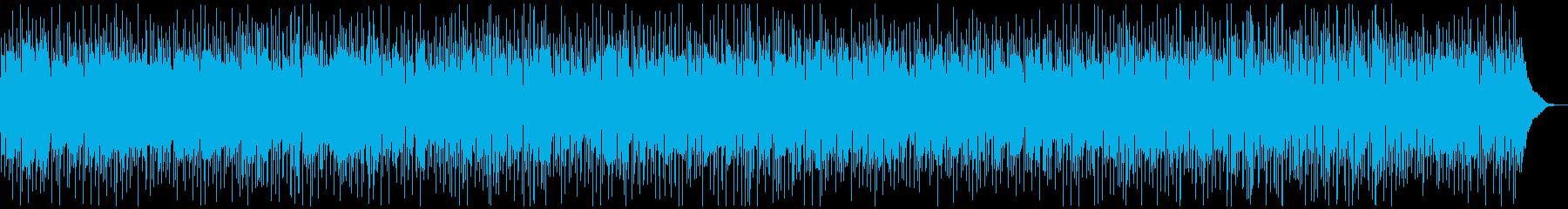 ほのぼのとしたカントリーバラードの再生済みの波形