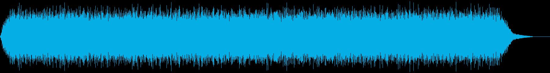 【アンビエント】ドローン_25 実験音の再生済みの波形