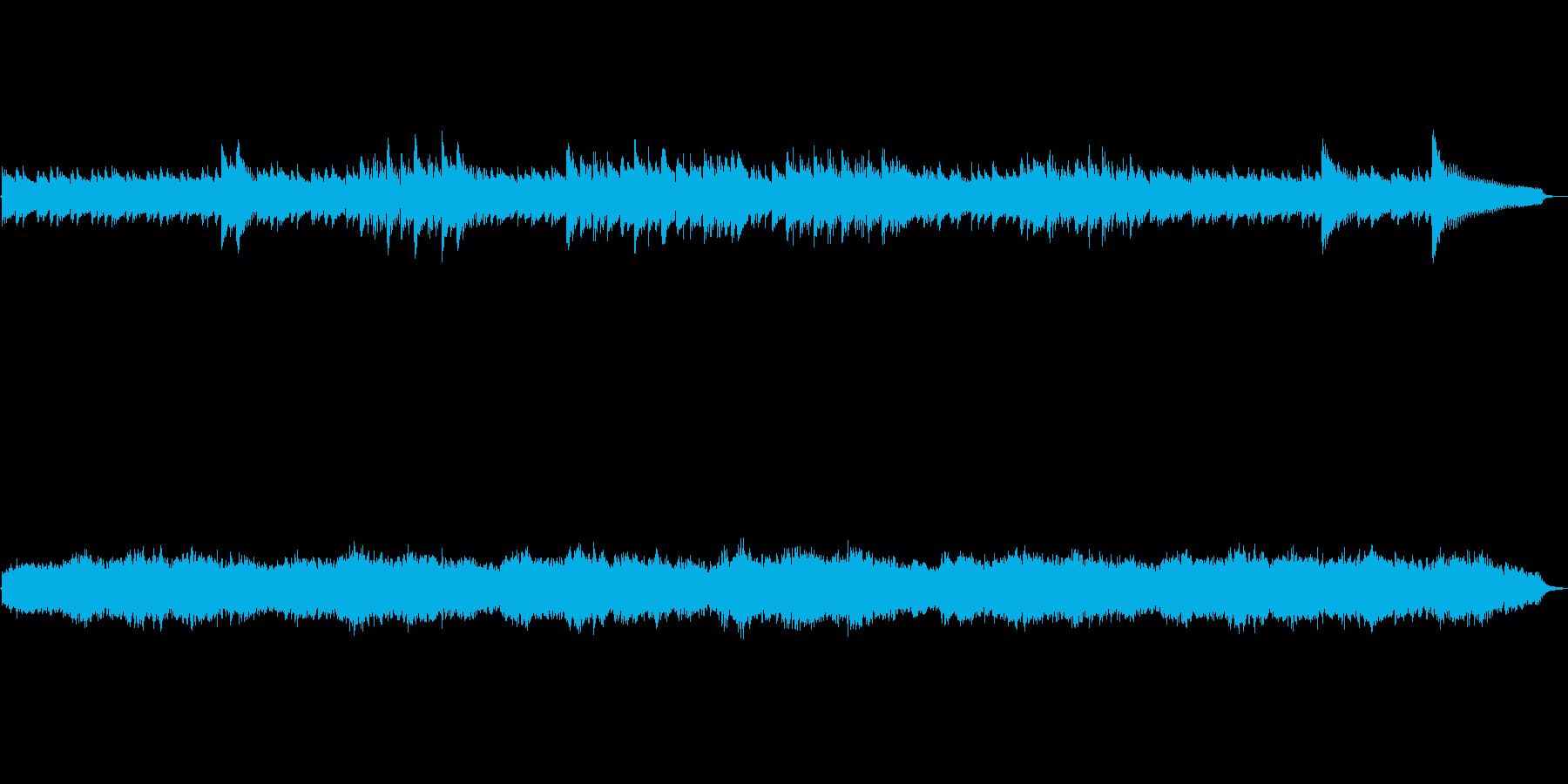 アランフィス協奏曲の冒頭をギターアレン…の再生済みの波形