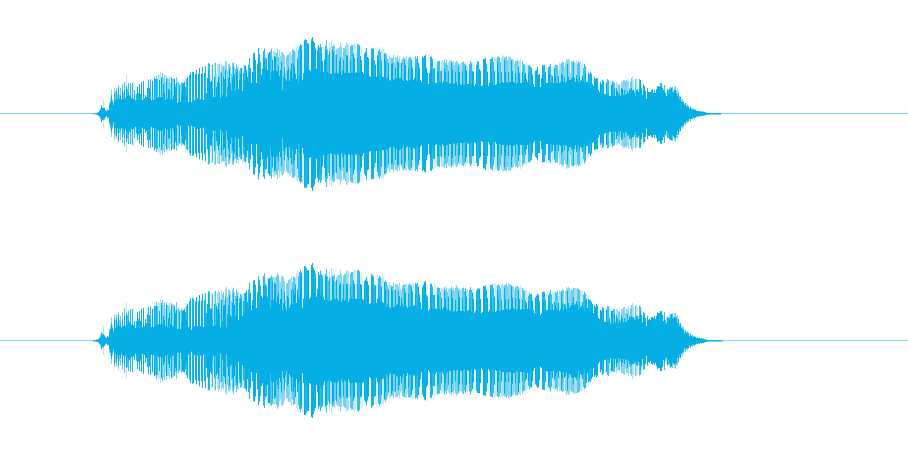 えーい!の再生済みの波形