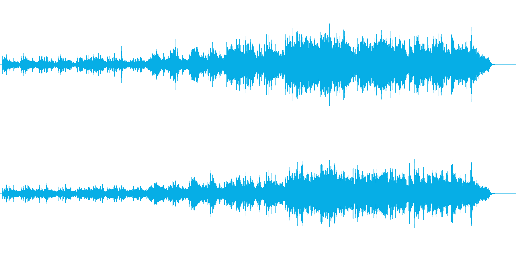 回想シーンや夕焼けにあった曲です。の再生済みの波形