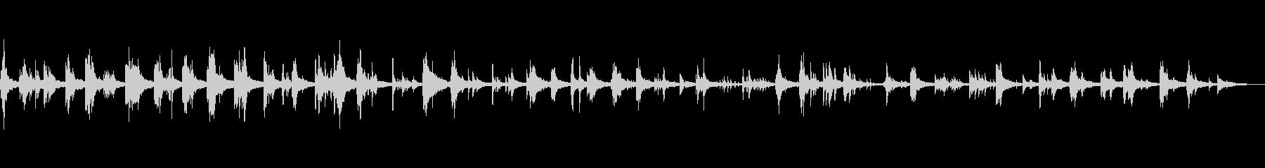 A gentle, soft and fantastic BGM's unreproduced waveform