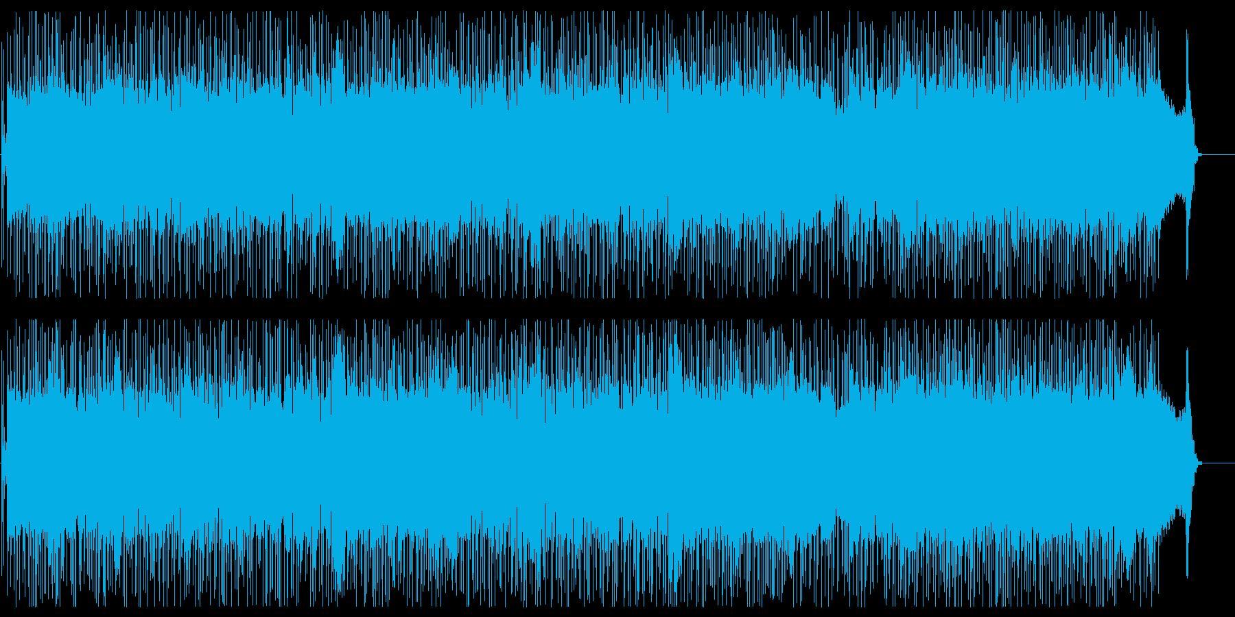 パンキッシュでストレートなハードロック☆の再生済みの波形