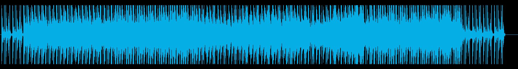 夕陽の似合う叙情的なスローEDMの再生済みの波形