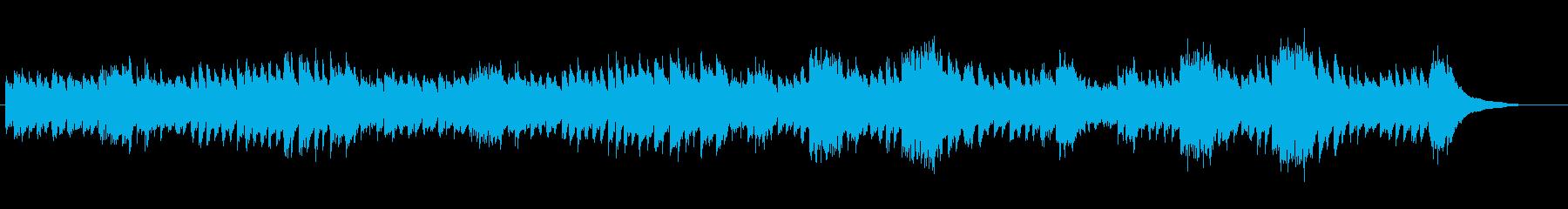ピアノによる落ち着いたテンポのメヌエットの再生済みの波形