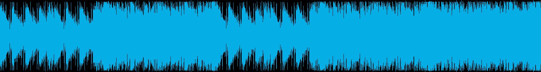 秋の夕焼け・優しいアコギポップ・ループの再生済みの波形