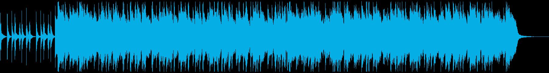 アコギのほのぼのとした楽曲の再生済みの波形