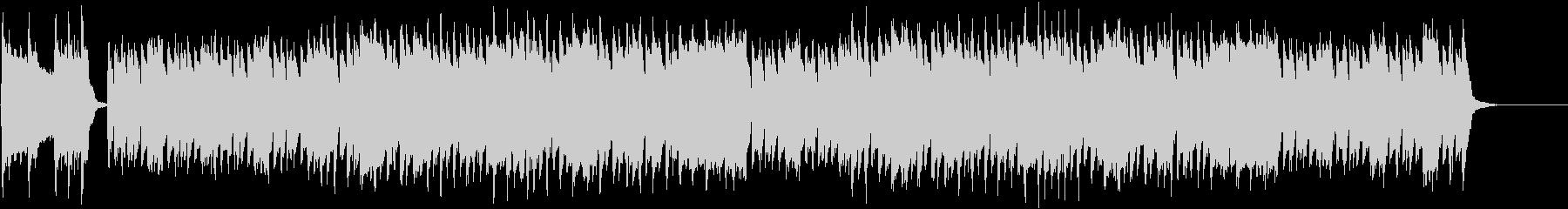 口笛のメロディが可愛いチビッ子探検隊の曲の未再生の波形