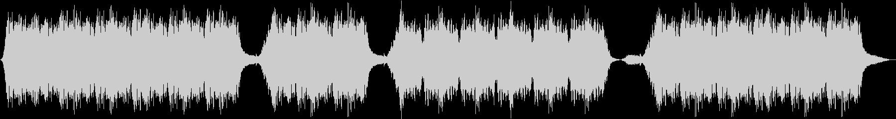 就寝用に制作されたハープ音楽の未再生の波形