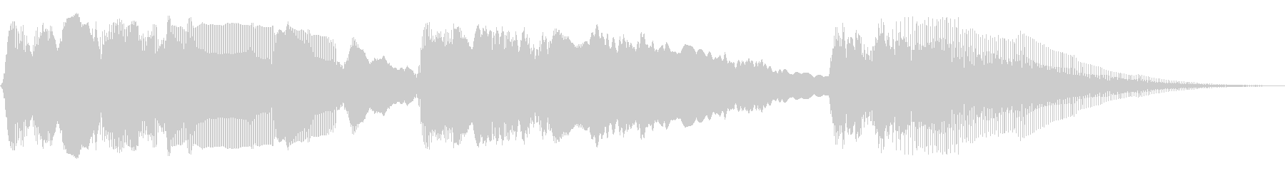 パワーバンドスイープ2の未再生の波形