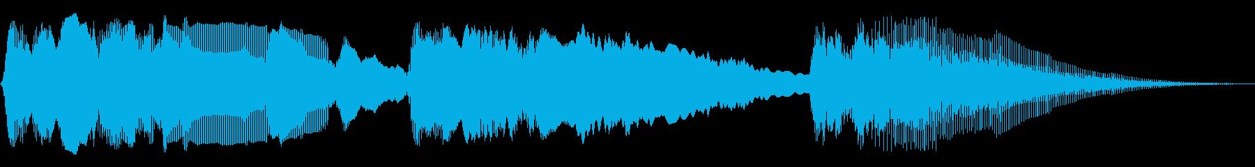 パワーバンドスイープ2の再生済みの波形
