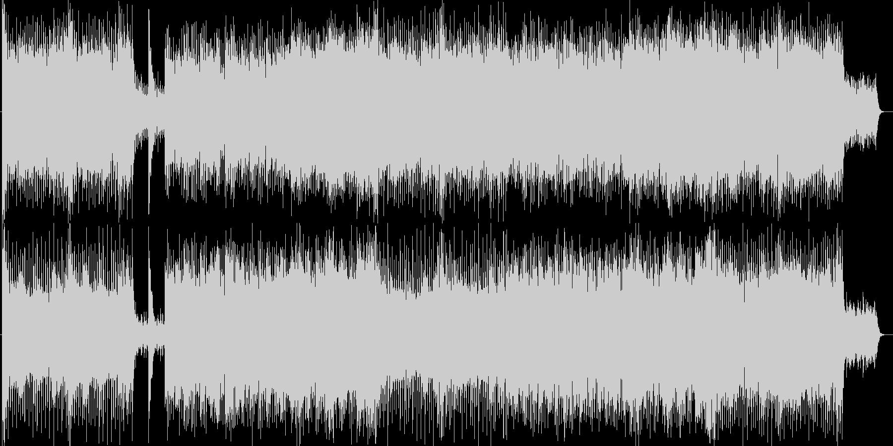 ハラハラ感シンセ・ギターなどのサウンドの未再生の波形