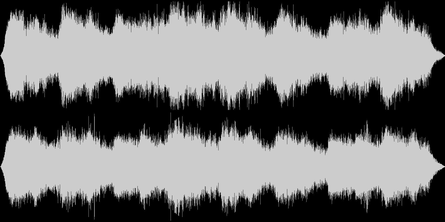 スチーム的な音色を使用しましたの未再生の波形